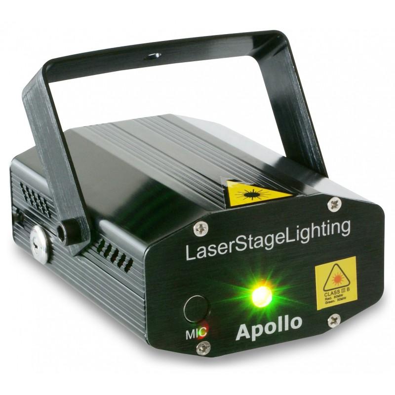 Laser multipoint, rosu/verde 170mW, BeamZ Apollo