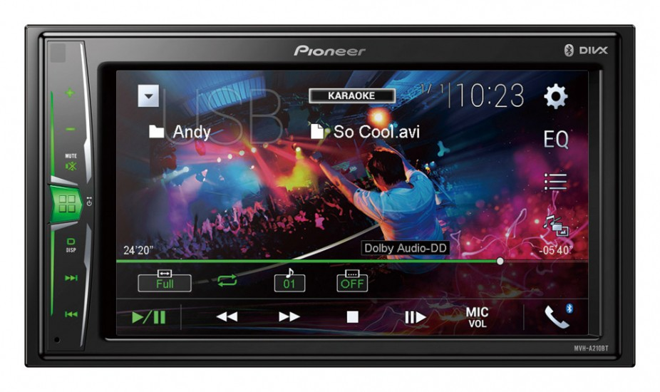 "Media player cu Bluetooth 2DIN 6.2"" iPod / iPhone Direct Control"
