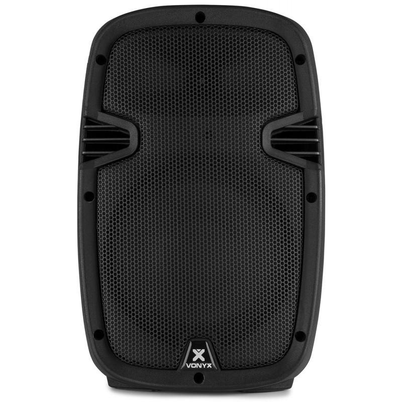 "Boxa activa mobila ABS 8""/60W RMS 1x VHF SPJ-PA908 BT/VHF/USB/MP3"