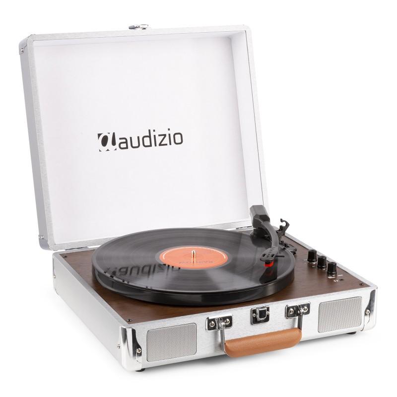 RP320 Pick-up cu Bluetooth, aluminiu, Audizio