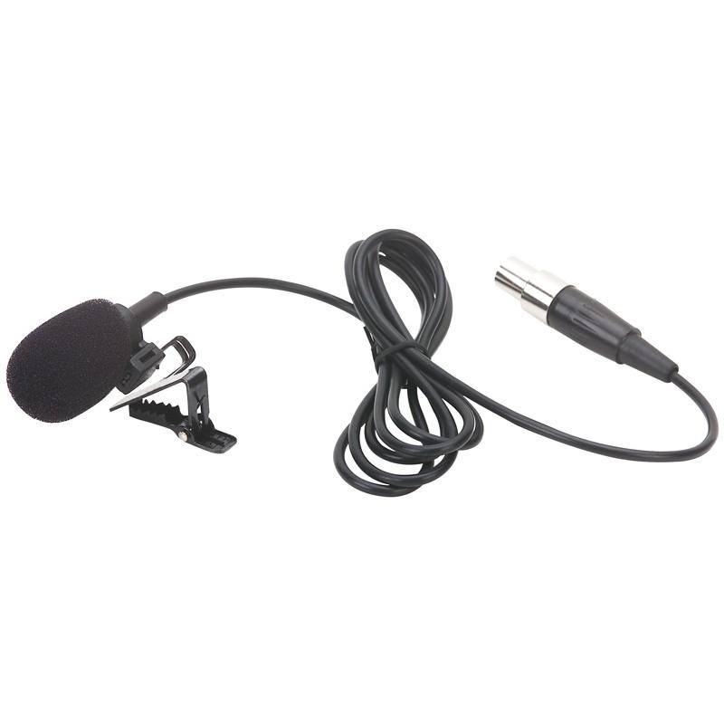 PDT1 Microfon cu clema pentru lavaliera cu mufa mini XLR Power Dynamics