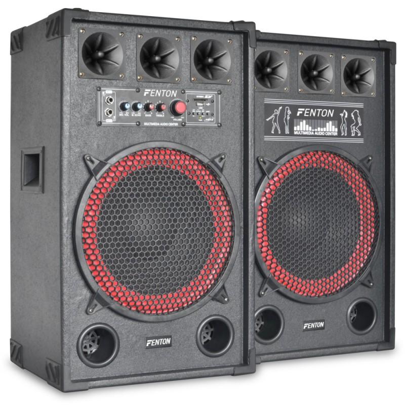 """Set boxe karaoke  12"""" SPB-12   2x130W RMS"""
