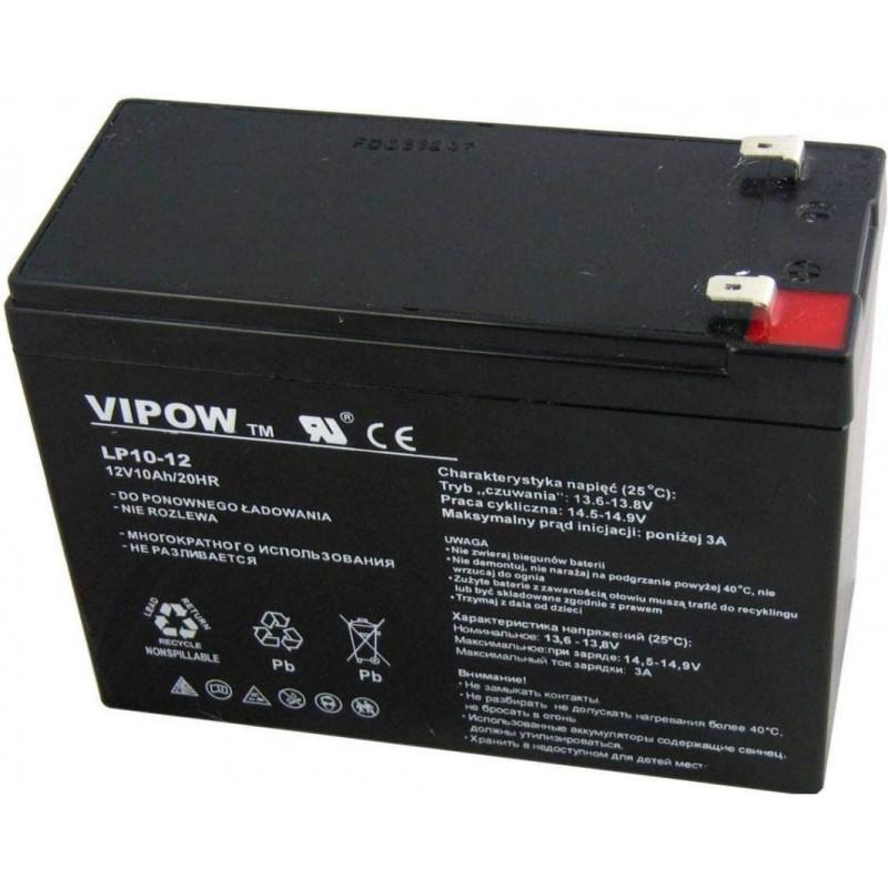 Acumulator Vipow gel plumb 12V 10Ah