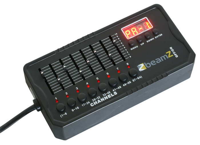 BeamZ Mini controller DMX-512