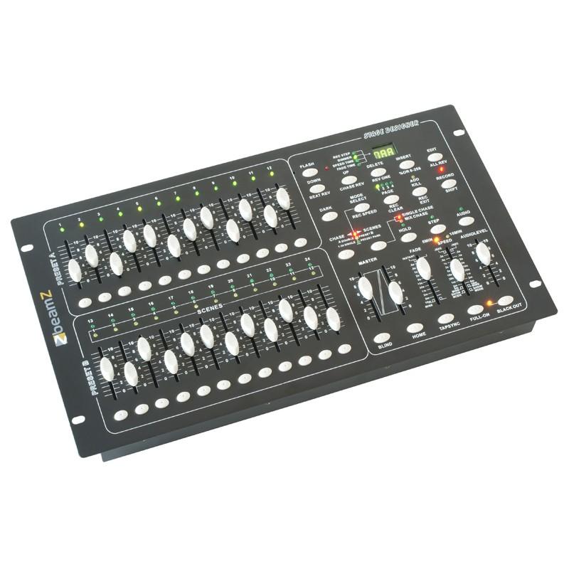 DMX024 PRO Controller DMX pentru lumini disco BeamZ