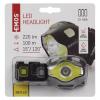 Lanternă de cap, LED 3W+ LED COB 3W, 220lm, 100m, 3xAAA, Emos P3536