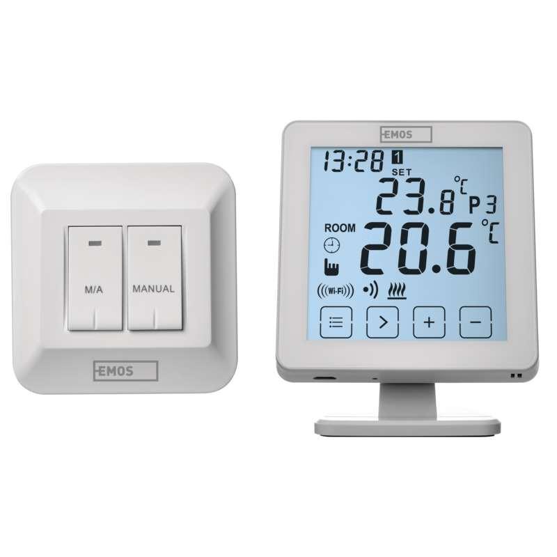 Termostat centrala wireless Wi-Fi Smart EMOS P5623