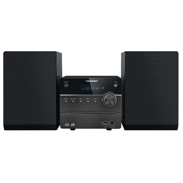 Microsistem Blaupunkt MS12BT, 2 x 5W, stereo, Bluetooth/CD/MP3/USB