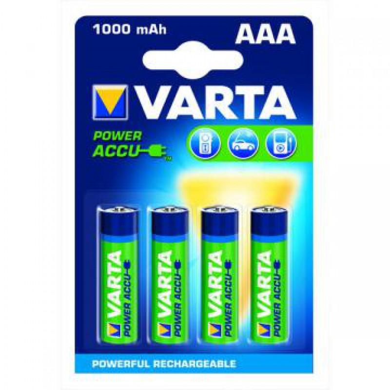 Acumulator Varta LR03, pret/blister