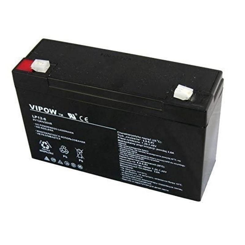 Acumulator Vipow gel plumb 6V 12Ah