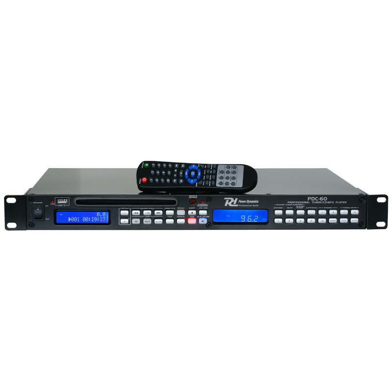 PDC-60 1U Tuner with USB/CD Player
