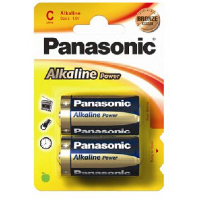 Baterie Panasonic LR14, pret/blister