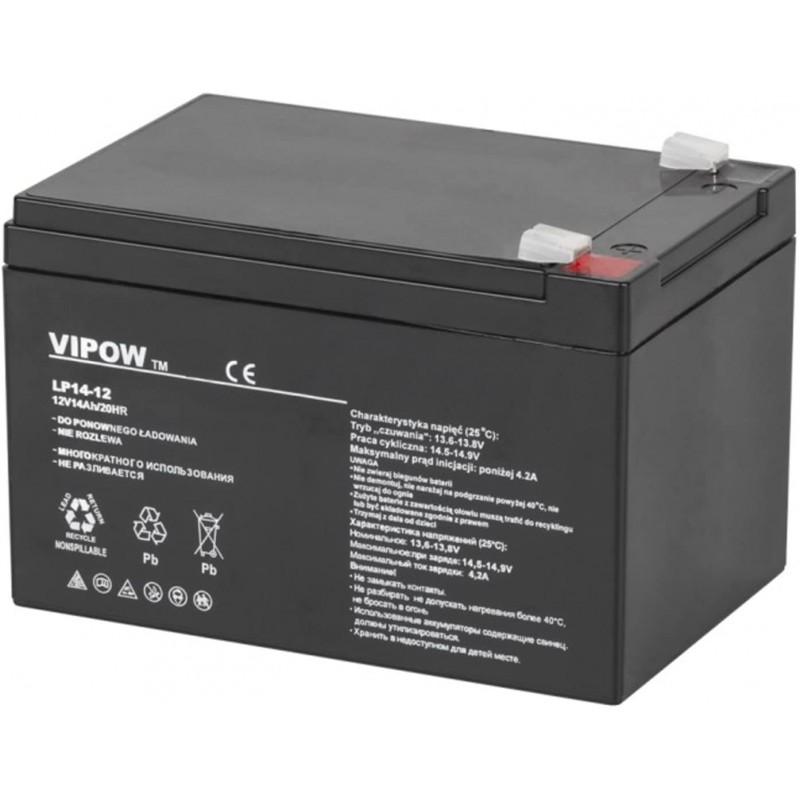Acumulator Vipow gel plumb 12V 14Ah