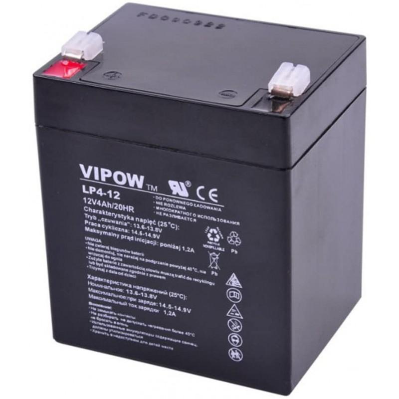 Acumulator Vipow gel plumb 12V 4Ah