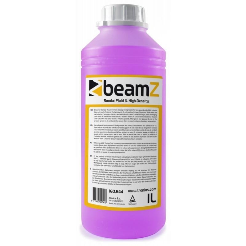 Lichid de fum de inalta densitate, roz, 1 litru, BeamZ