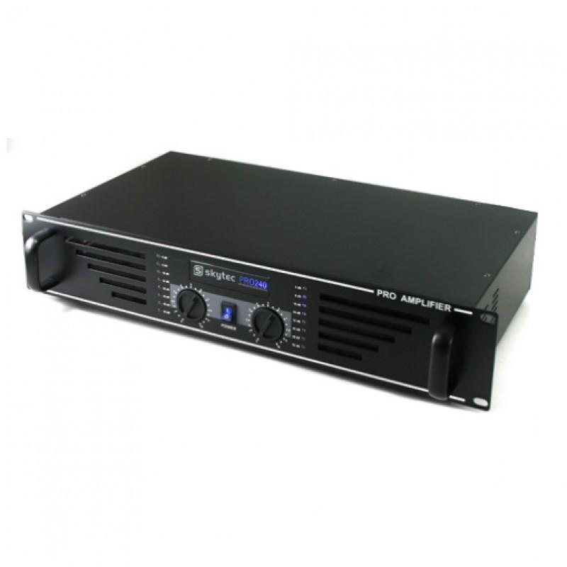 Amplificator 2x120W max, SKY-240 negru