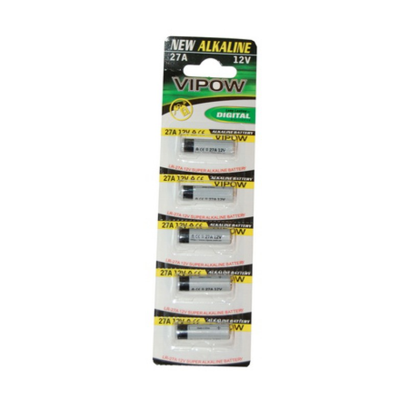 Baterie Vipow LR27A 12V, 5 buc/blister, pret/blister