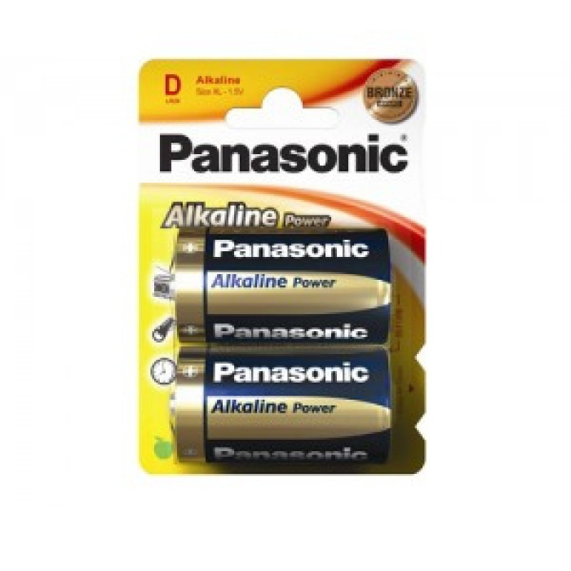 Baterie Panasonic LR20, pret/blister