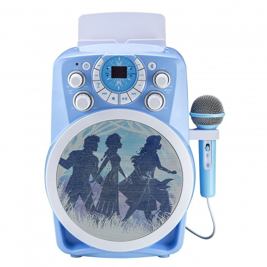 Boxa karaoke pt copii, Bluetooth, lumini disco, Disney - Frozen 2