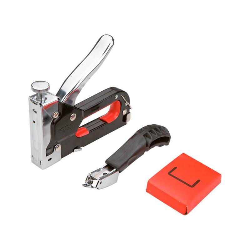 Set capsator, 6-8 mm, capse tip J/53 + aparat scos capse, Top Tools