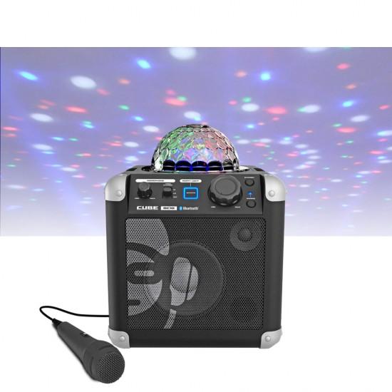 Idance Boxa portabila acumulator Li-Ion microfon Bluetooth / USB 50W RMS