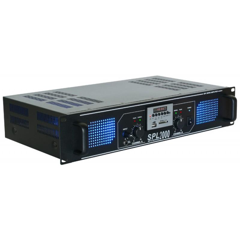 Amplificator SPL1000MP3 LED albastru (SPL-1000MP3)