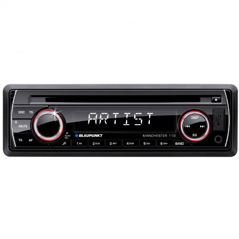 Player Radio auto USB/SD/CD 4x50W Blaupunkt Manchester 110