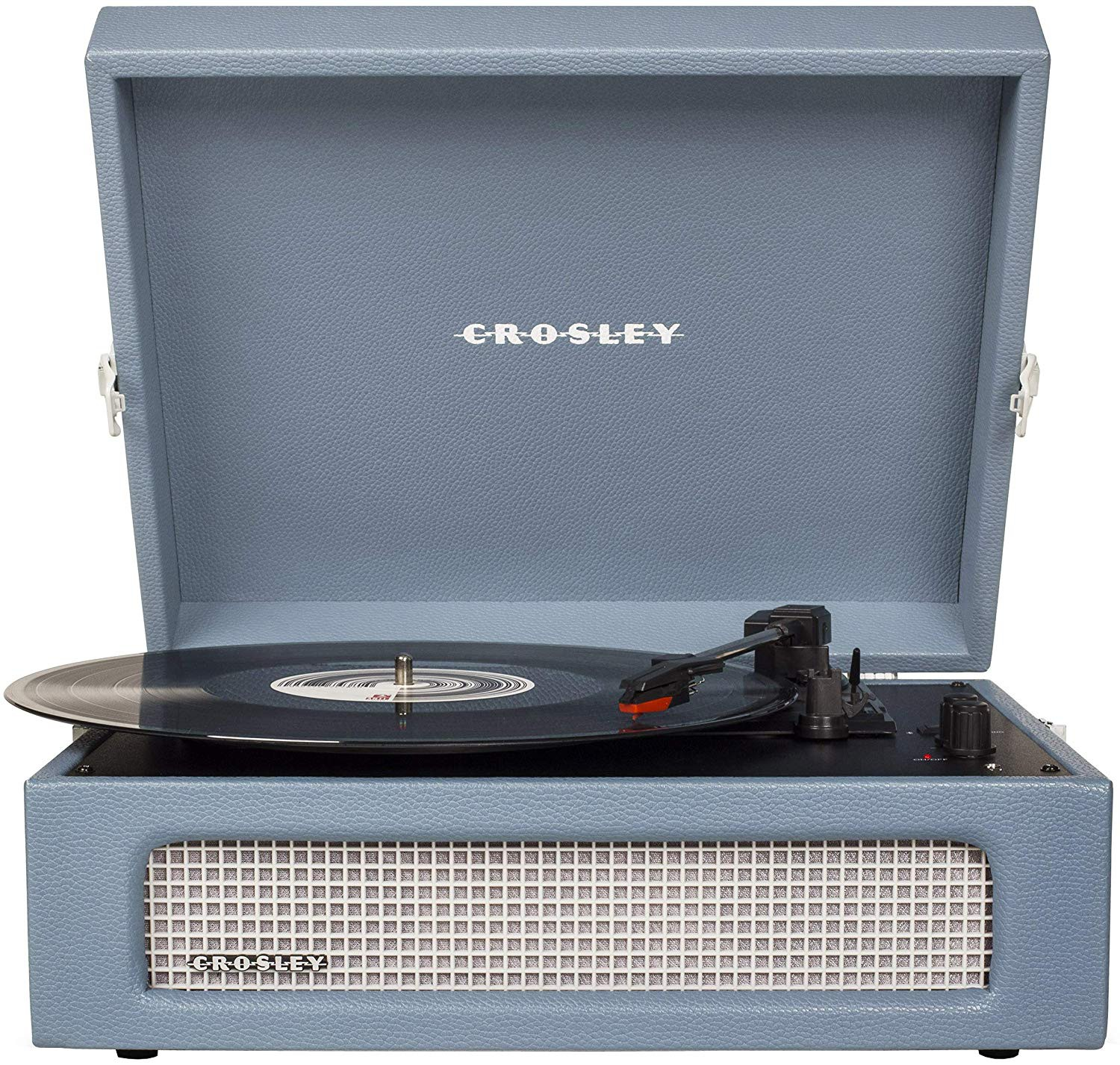 Pick-up Crosley cu Bluetooth Voyager - Washed Blue