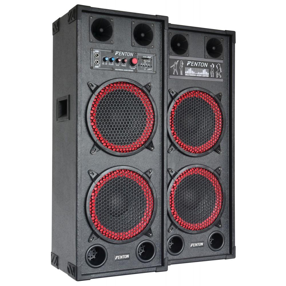 """Set boxe karaoke 2 x 10"""" SPB-210  2x100W RMS"""