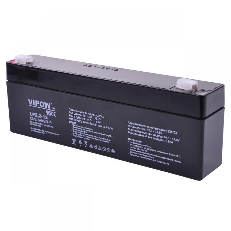 Acumulator Vipow gel plumb 12V 2.2Ah