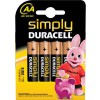 Baterie Duracell simply LR06, pret/blister