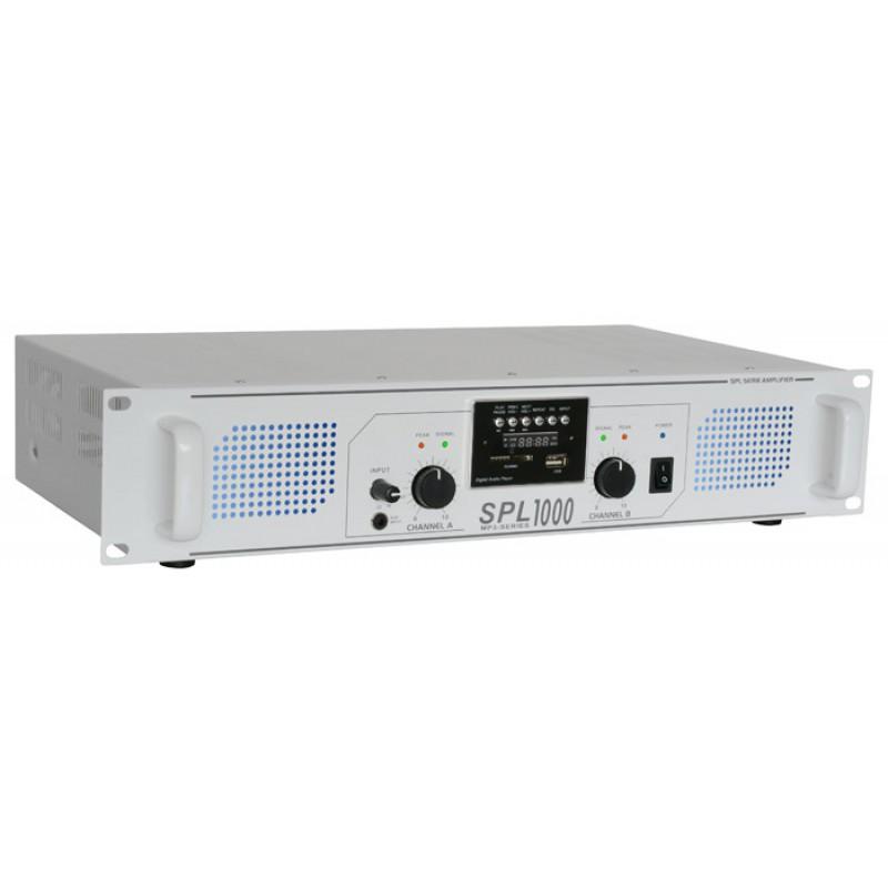 Amplificator cu LED albastru SPL1000MP3 (SPL-1000MP3)