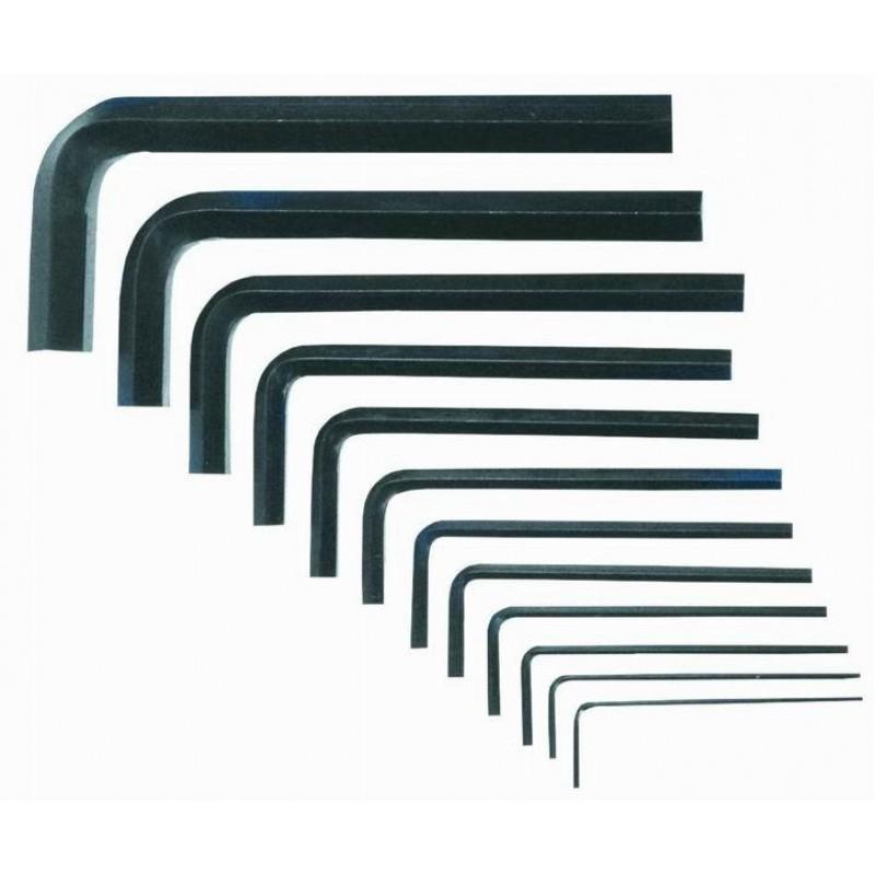 Set chei imbus, 1.5-12 mm, 10 buc, Top Tools
