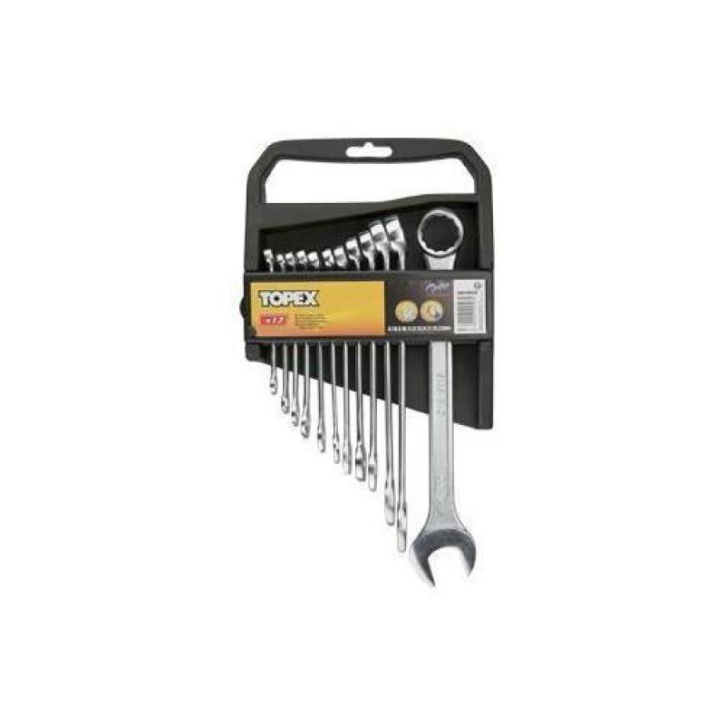 Set chei combinate fixe - inelare 6-22 mm, set 12 buc, Topex