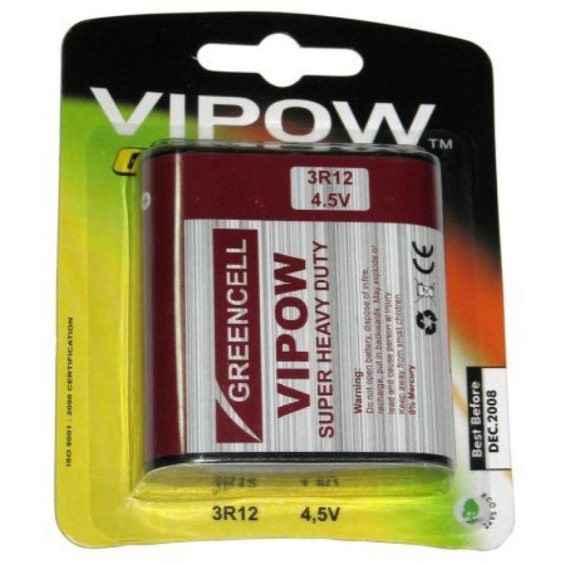 Baterie Vipow 3R12, 4,5V, pret/blister