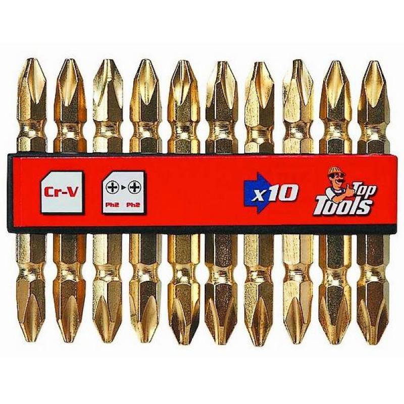 Biti/varfuri Phillips PH2 x 60 mm, 10 buc -set