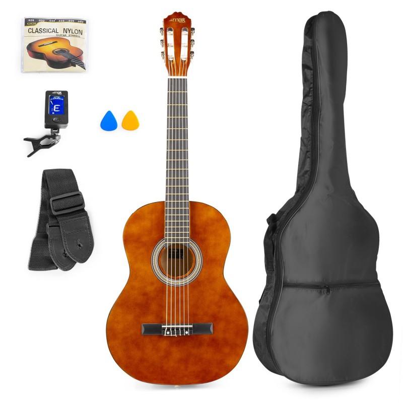 Chitară clasică, geantă de transport, maro, MAX SoloArt
