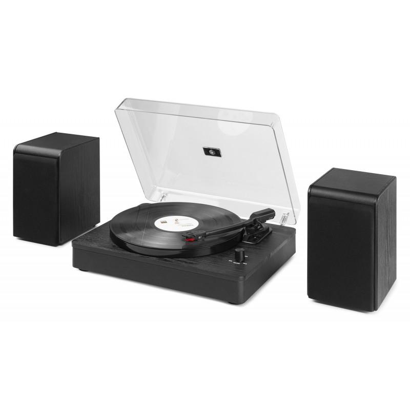 RP330 Set pick-up cu boxe, 2x50W, Bluetooth, negru, Audizio