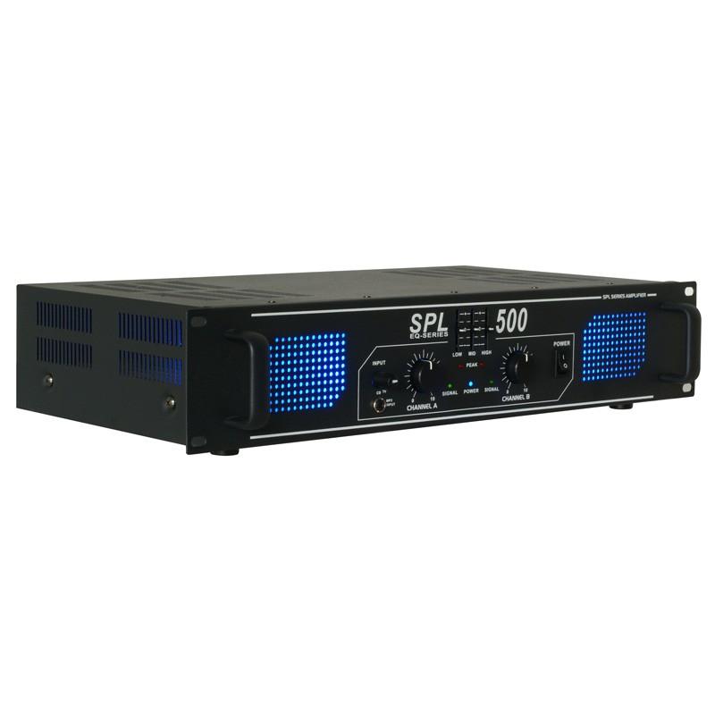 Amplificator SPL500 2x250W EQ (SPL-500)