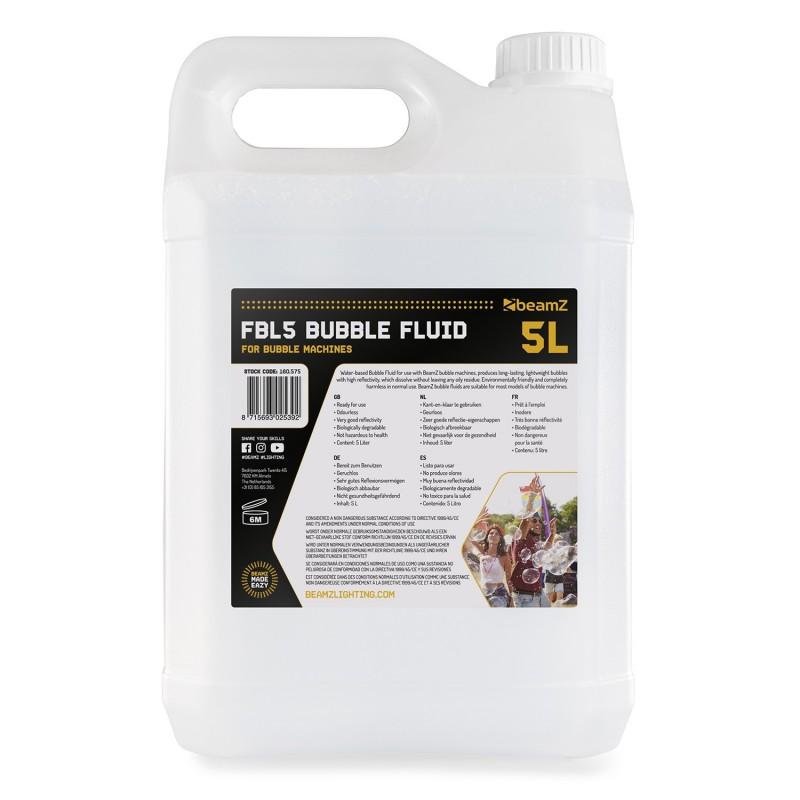 FBL5 Lichid pentru mașini de făcut baloane, 5 litri, BeamZ