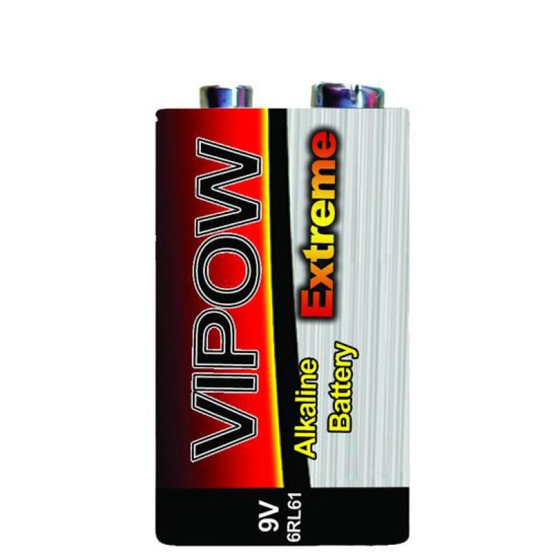 Baterie Vipow Extreme 9V super alcalina