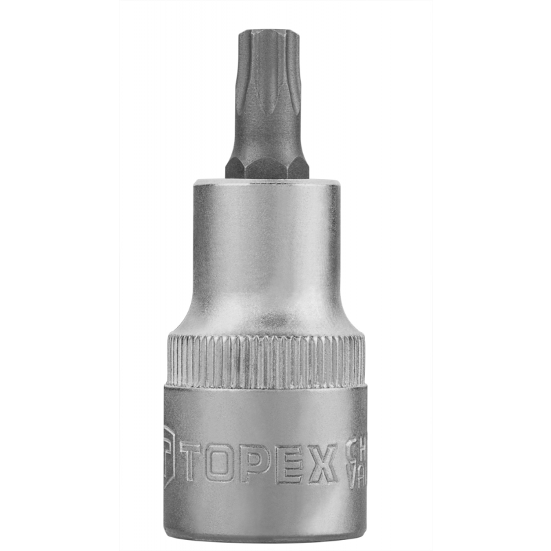 "Tubulara cu amprenta torx 1/2"", T40 x 60 mm, Topex"