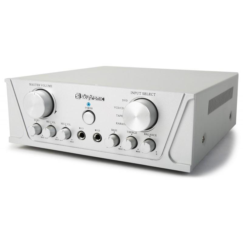 Amplificator karaoke stereo universal 2x50W