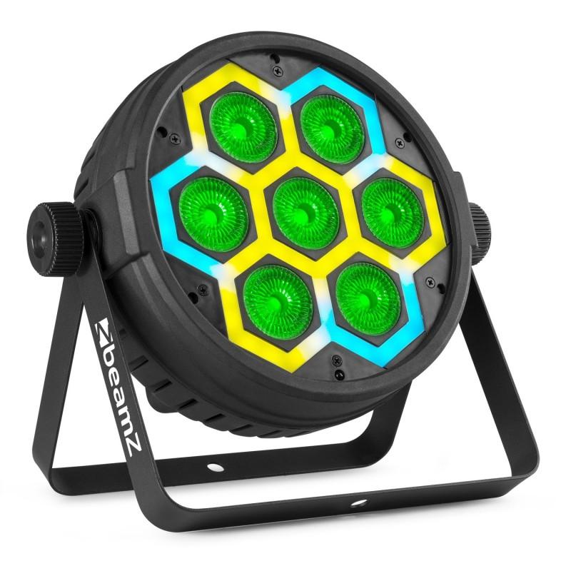 BT420 PAR LED, 7x10W cu efect SMD combi, RGBW, BeamZ