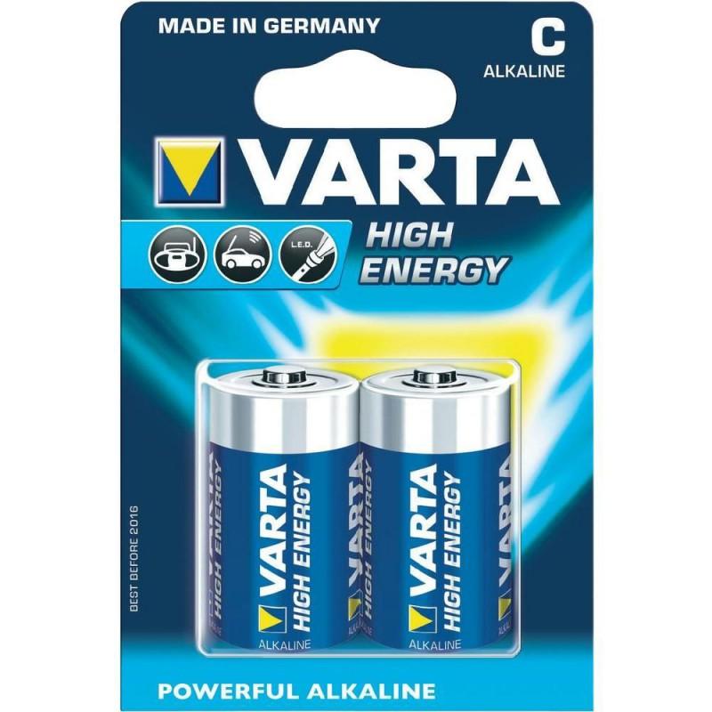 Baterie Varta High Energy, LR14, pret/blister