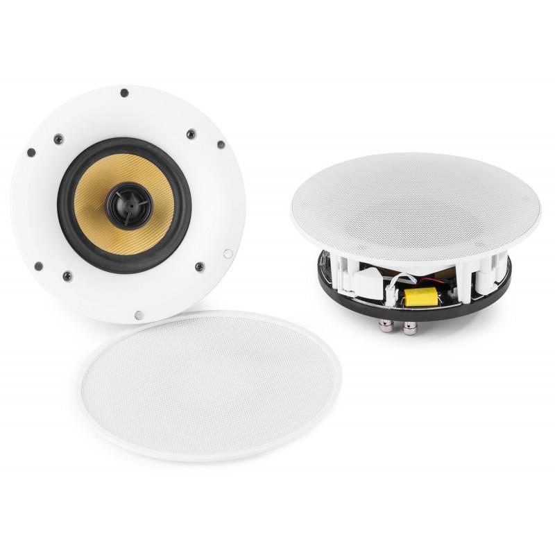 """Set difuzoare tavan  WiFi/Bluetooth 5.25""""/ 100W Aplicatie Mobile WCS50A PowerDynamics"""