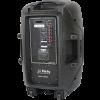 Boxa activa 15 inch/38CM  Bluetooth/USB/FM+Stand+Microfon IBIZA