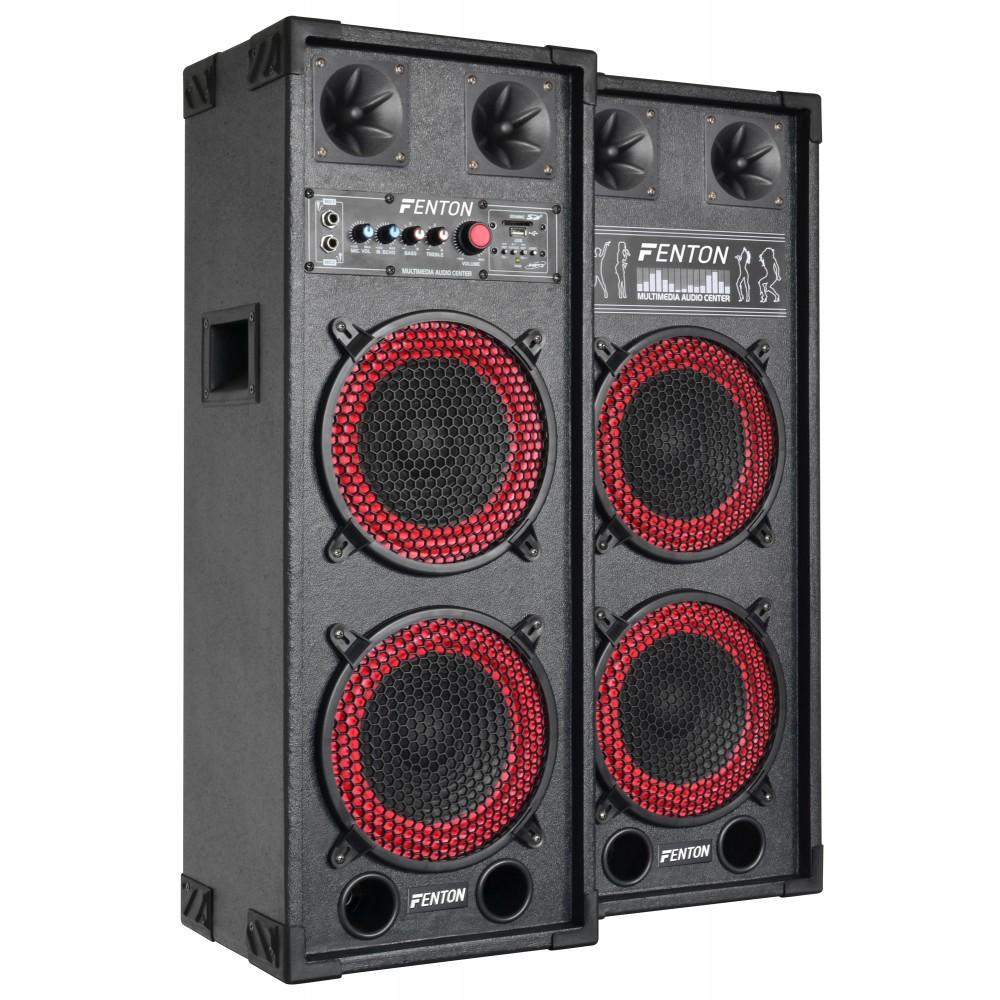 """Set boxe karaoke 2 x 8"""" SPB-28  2x130W RMS"""