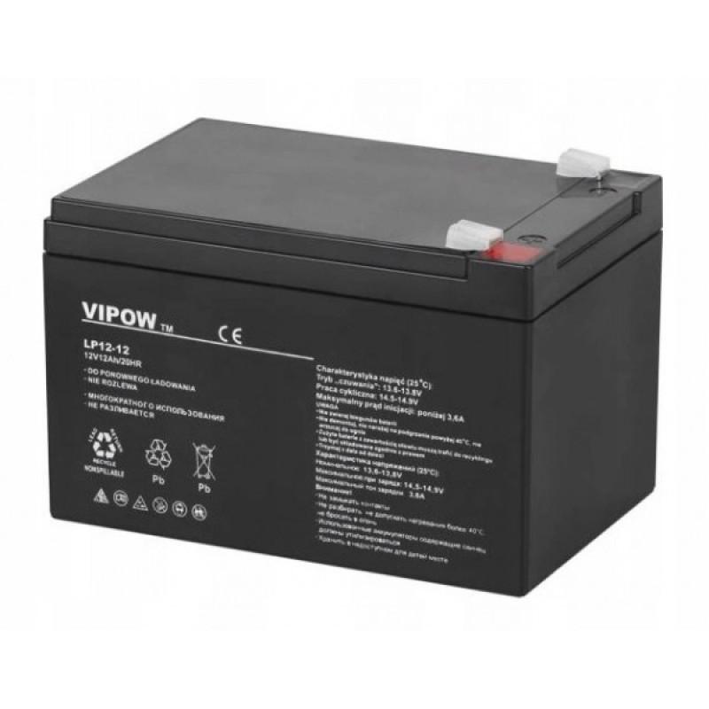 Acumulator Vipow gel plumb 12V 12Ah