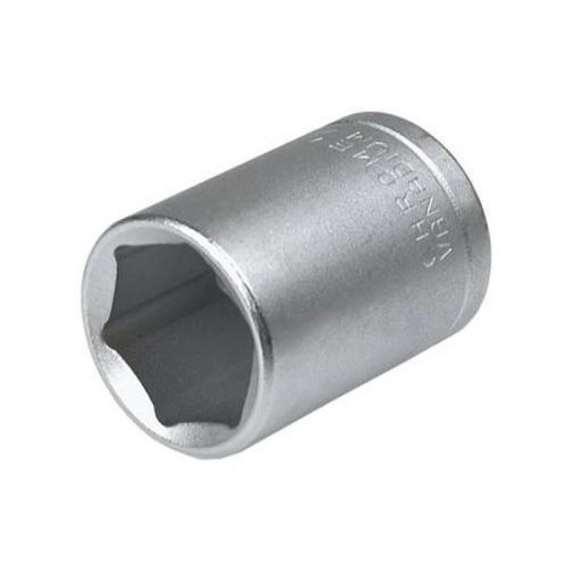 "Tubular in 6 puncte 1/4"", 12 mm, 19mm lungime, Topex"